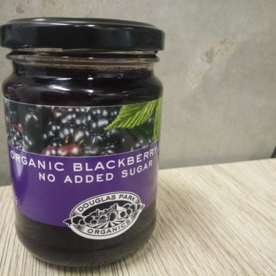 blackberry jam image